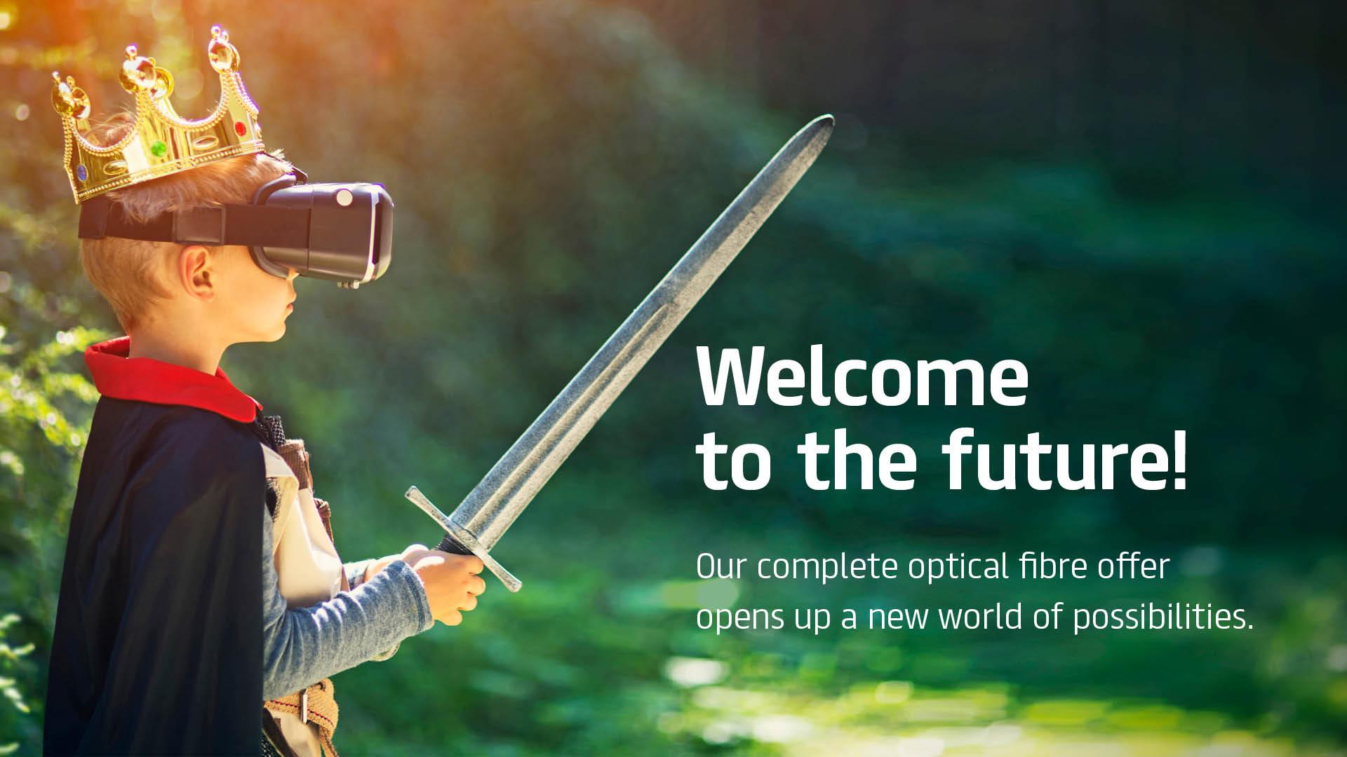 Optical fibre products