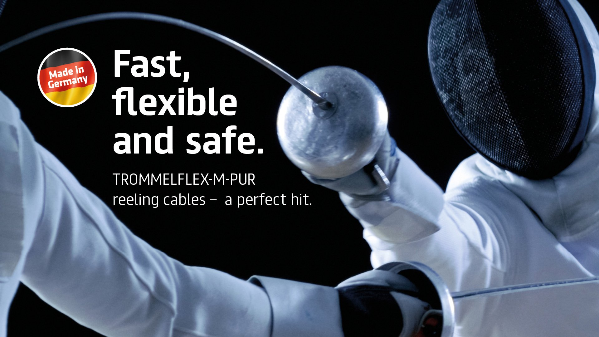 TROMMELFLEX-M-PUR reeling cable