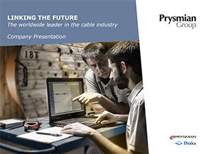 Prysmian Group Company presentation 2016