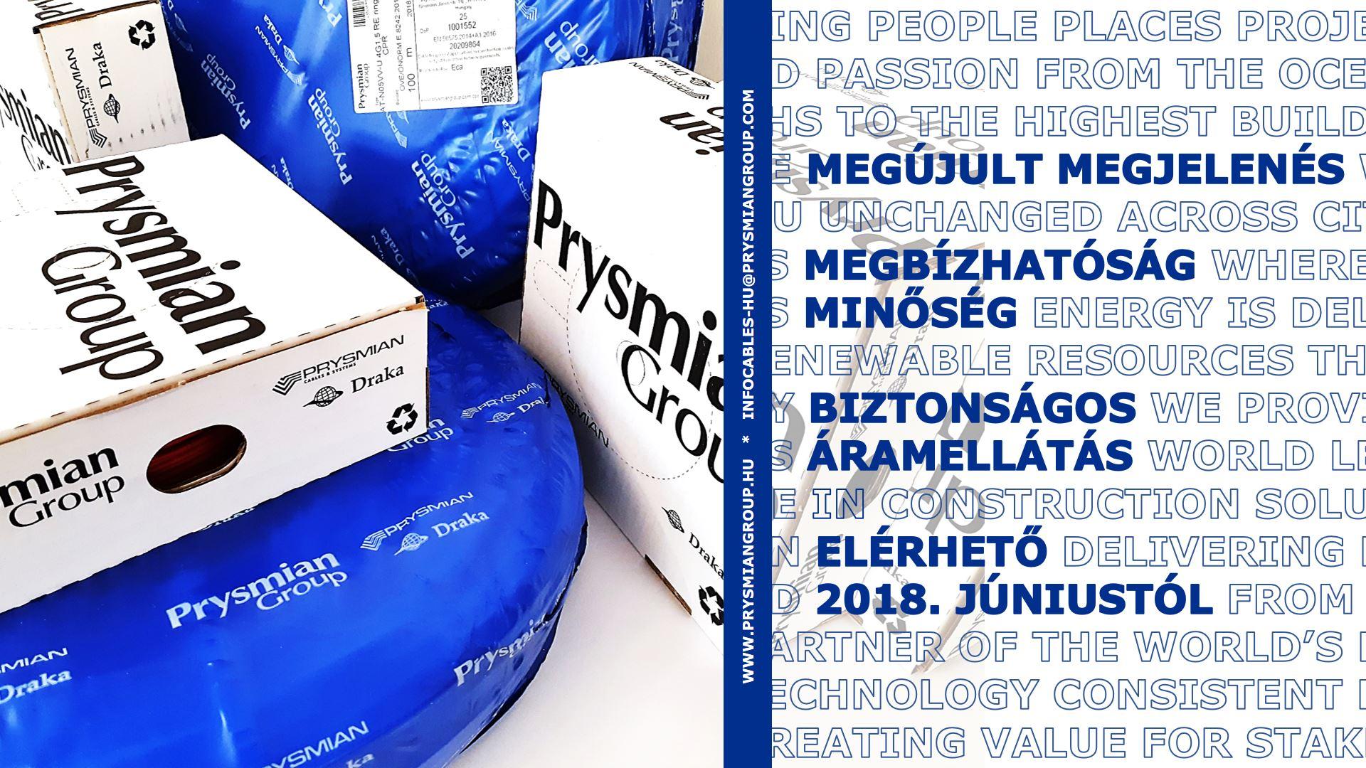 A Prysmian MKM termékei új csomagolásban