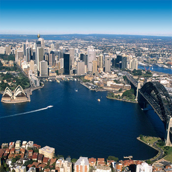 A multi-technology network embracing  the whole of Australia