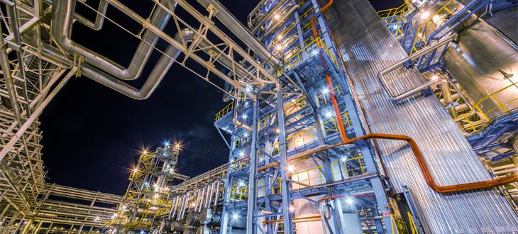 Finomítók és petrolkémiai ipar